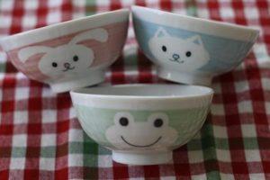 セリア・子供用陶器茶碗